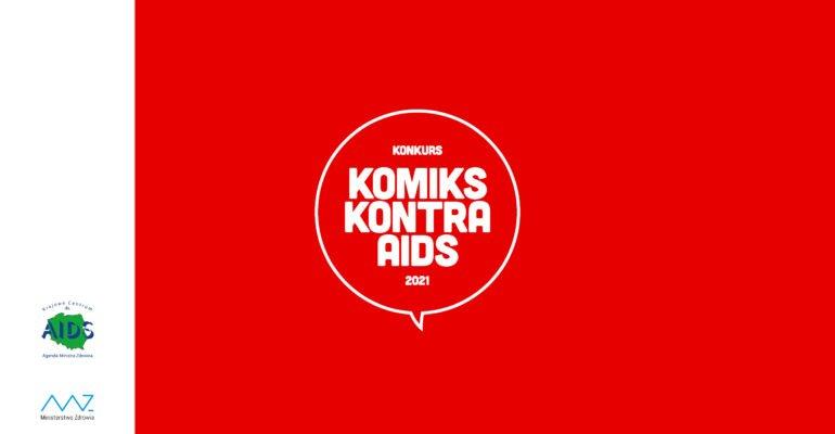 Grafika konkursu Komiks kontra AIDS